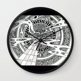 Spiral Portal Wall Clock