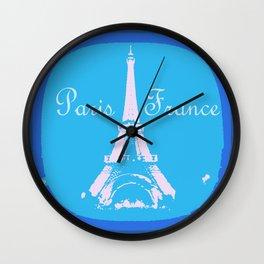 Paris France Wall Clock
