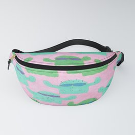 Cool Cactus Pattern Fanny Pack