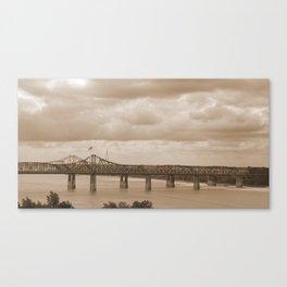 Vicksburg Bridge 1 Canvas Print