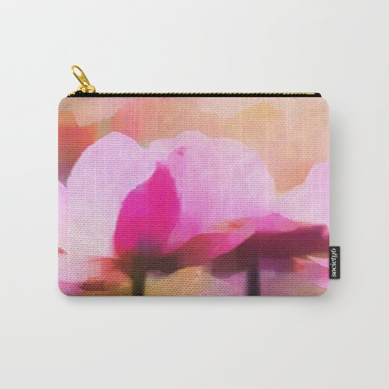 Anemone abstract hand painted Carry-All Pouch