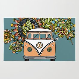 VW bus Rug