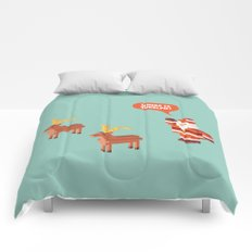 Where is Rudolph? Comforters