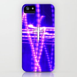 I Am the Light of the World, the Truth Shall Make You Free iPhone Case