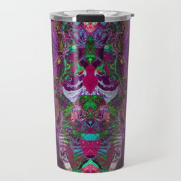 Slipping purple Travel Mug