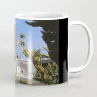 san diego Mugs featuring San Diego Modern Pathway by Danny Heller