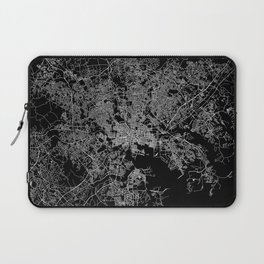 Baltimore map Maryland Laptop Sleeve