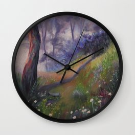 Lumieres matinales Wall Clock