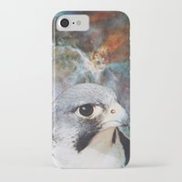 millenium falcon iPhone & iPod Cases featuring Falcon by John Turck