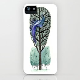 Peacock in a Tree iPhone Case