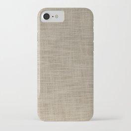 Gunny cloth iPhone Case