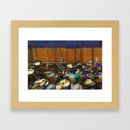 Leshi Marina Framed Art Print