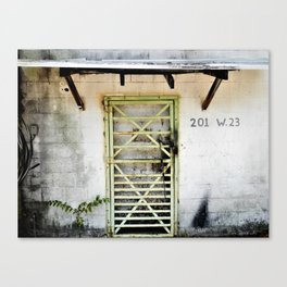 Other World Entrance Canvas Print