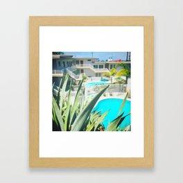 Stereo typical so-cal Framed Art Print