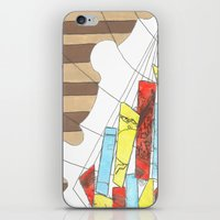 maps iPhone & iPod Skins featuring Maps by Shannon Rutherford