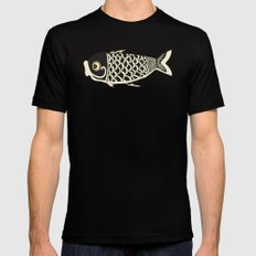 Koi Black Mens Fitted Tee Black MEDIUM