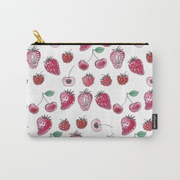 Seamless pattern design with various berries Carry-All Pouch