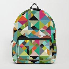 tangram geo multi Backpack