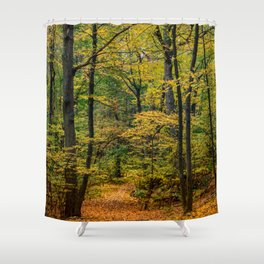 October Forest 3 Shower Curtain