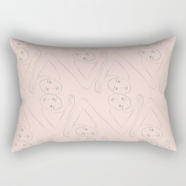 Diamond Dancers Rectangular Pillow