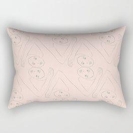 Diamond Dancers Rectangular Pillow