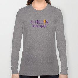Worldwide Bolt Long Sleeve T-shirt