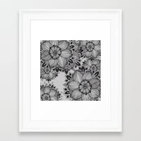 gray Framed Art Prints featuring Gray  by rskinner1122
