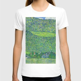 Klimt - Litzlberg on the Attersee (new editing) T-shirt