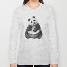 Panda playing percussion G140 Long Sleeve T-shirt