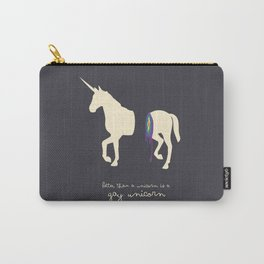 Gay unicorn Carry-All Pouch