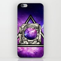 astronaut iPhone & iPod Skins featuring Astronaut by Pancho the Macho