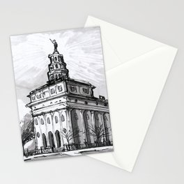 Nauvoo Illinois Temple Stationery Cards