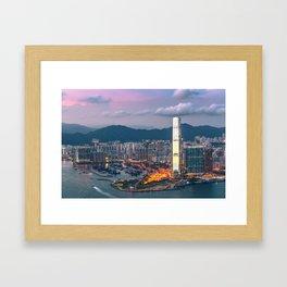 HONG KONG 17 Framed Art Print