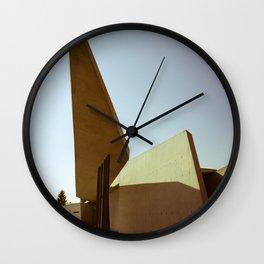 Zaha's Fire Station Wall Clock