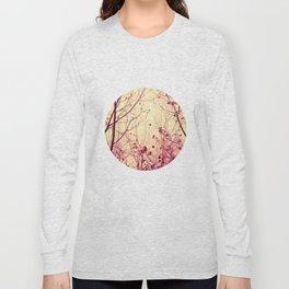 trees - my secret garden Long Sleeve T-shirt
