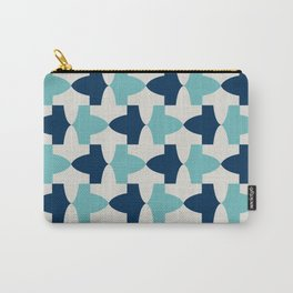 Alhambra Motif Blue Palette Carry-All Pouch