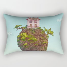 THE HOUSE ON THE CLIFF Rectangular Pillow