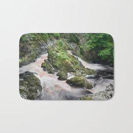 Rhaeadr y Graig Lwyd or Conwy falls Bath Mat