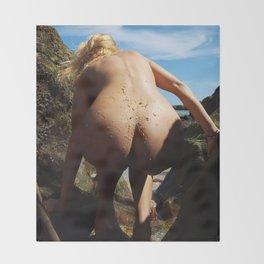 The Beachcomber Throw Blanket