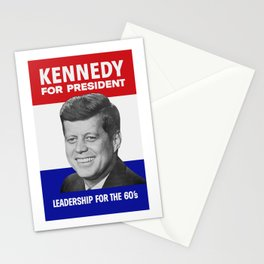 Kennedy For President - Leadership For The 60's Stationery Cards