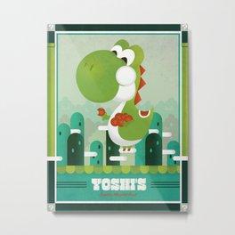 Yoshi's Quality Fruit Metal Print