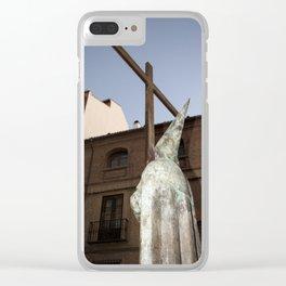 Prayer Clear iPhone Case