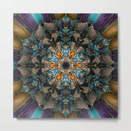 Mandala of aristocracy 2 Metal Print