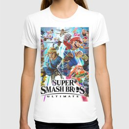 Super Smash Bros All Characters T-shirt