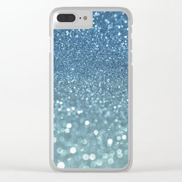 Bubbly Sea Clear iPhone Case