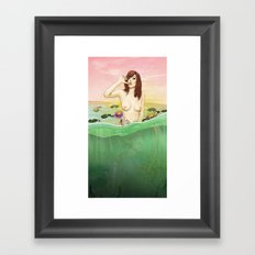 Lily du Lac Framed Art Print