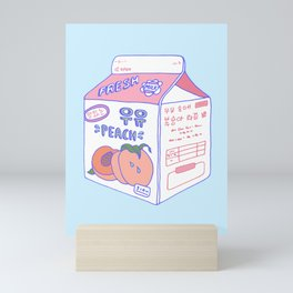 Peach Milk Mini Art Print