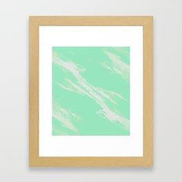 Greener on the Other Side Framed Art Print