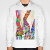 techno Hoodies featuring techno-doodle by David  Gough
