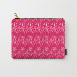 Paisley Magenta Carry-All Pouch